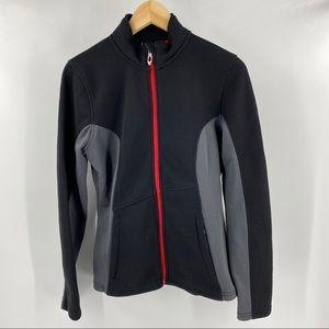Spyder black zip up jacket
